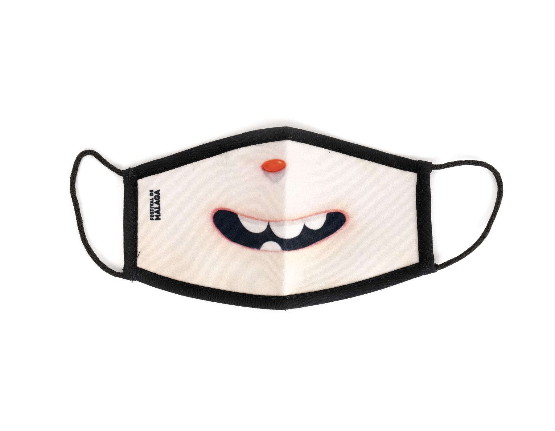 "Reusable hygienic face mask for children ""Smile"""